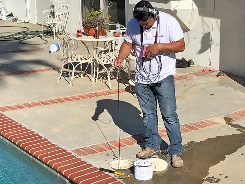 Swimming Pool Leak Detection Fontana